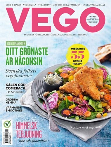 Vego Mat by Vego Prenumeration Prenumerera P 229 Vego Till Kanjpris