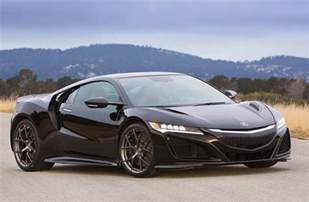 Hinda Acura 2016 Honda Nsx Specifications Confirmed 427kw 7500rpm