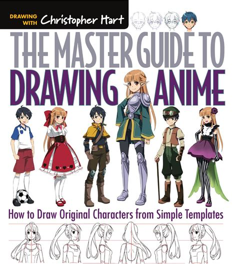 the master guide to drawing anime amazing how to draw essential character types from simple templates the master guide to drawing anime how to draw original