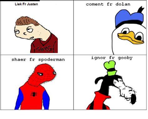 Spoderman Meme - spoderman dolan rice www pixshark com images galleries