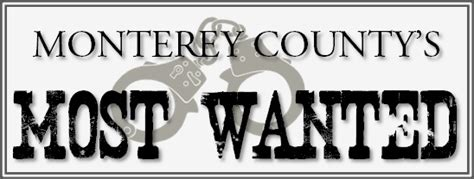 Monterey County Warrant Search Records Division Monterey Sheriff S Office