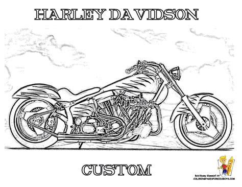 harley davidson coloring pages harley davidson coloring pages to and print for free