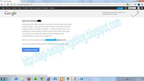 membuat akun email dari google cara membuat email di google lagi belajar ngeblog