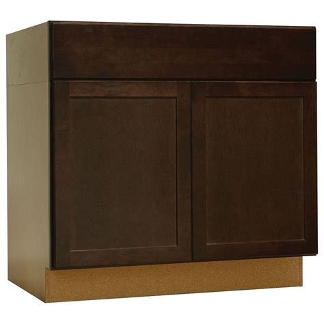 kitchen sink base cabinet home depot roselawnlutheran hton bay shaker assembled 36x34 5x24 in accessible
