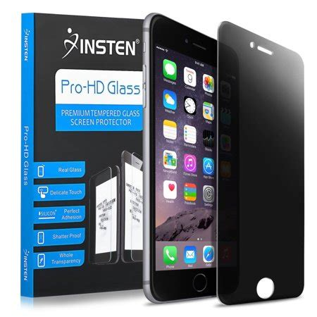 iphone 8 plus screen protector iphone 7 plus protector by insten privacy filter anti