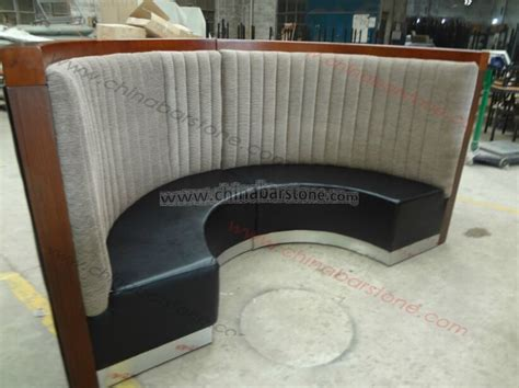 half circle couch design half round restaurant booth sofa comfortable curved