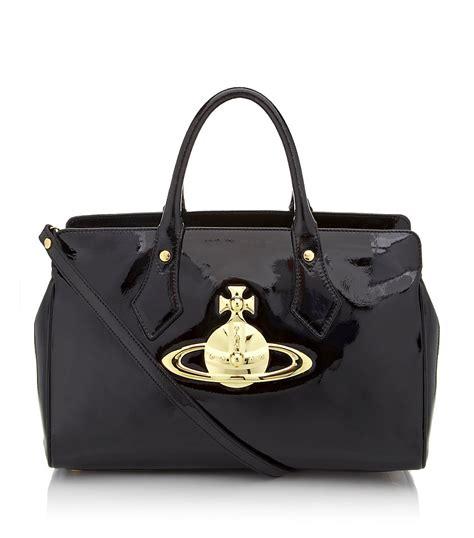 Vivienne Westwood Label Bags by Vivienne Westwood Classic Orb Handbag In Black Lyst