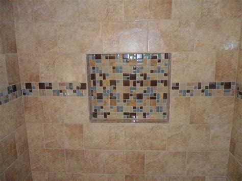 Ceramic Tile Shower Shelf by Ceramic Tile Shower W Inset Shelf Blaine Minnesota 171