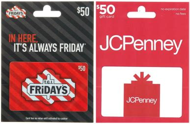 Jc Penny Gift Card - safeway affiliates multiple gift card discount ecoupons ebay jcpenney tgi
