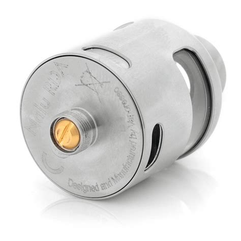 Nalu Rda Authentic By Vaporesso authentic vaporesso nalu rda 24mm silver reuildable atomizer