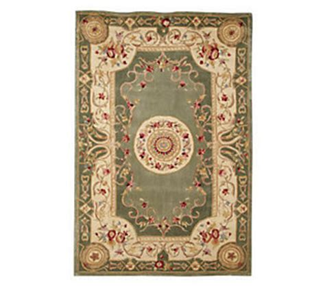 qvc rugs clearance royal palace emperors 56 x 86 handmade wool rug qvc