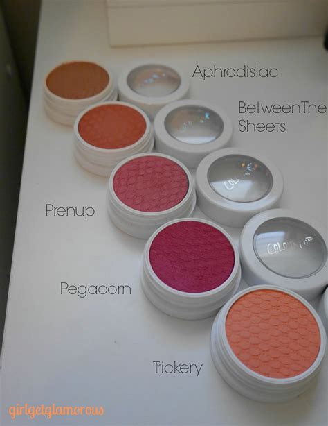 Colourpop Blush New colourpop shock cheeks blush swatches review contouring girlgetglamorous