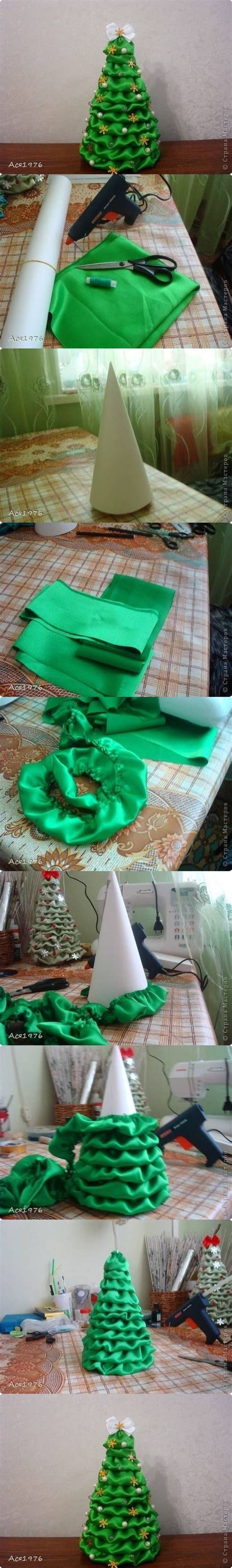 diy fabric christmas tree diy projects usefuldiy com