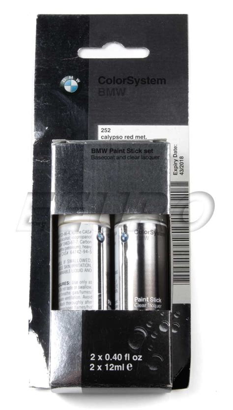 genuine bmw mini touch up paint code 252 calypso 51910419776 free shipping available