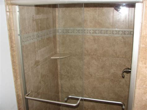 Tile Shower Stall Installation by Pepe Tile Installation Tile Showers Tile Shower