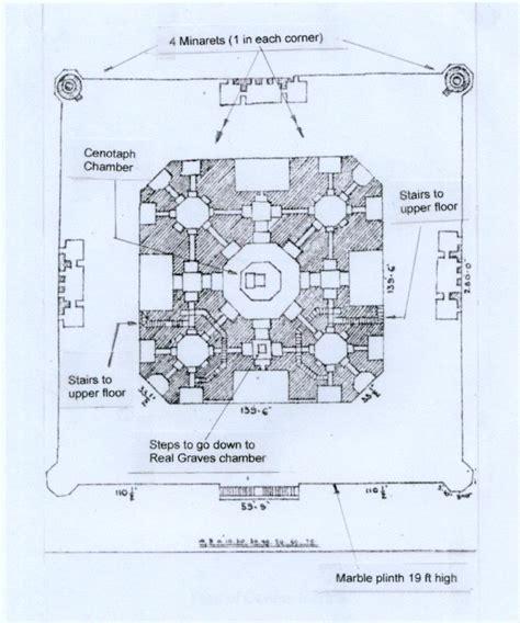 taj mahal floor plan hercolano2 taj mahal a hindu temple palace 4