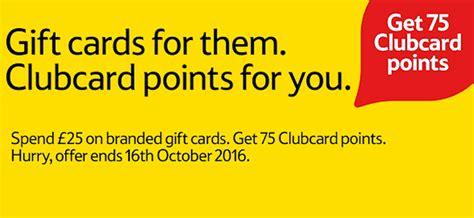Gift Cards At Tesco - tesco gift cards go from bonus points to zero points insideflyer uk