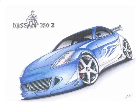 nissan 350z drawing nissan 350z drawing pixshark com images galleries