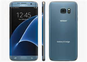 Rugged Waterproof Cell Phone Blue Coral Galaxy S7 Edge Now Available From Verizon