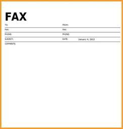 fax forms template printable blank fax cover sheet letter format mail
