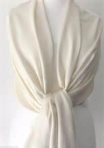 cream pashmina ivory wrap ladies shawl womens large scarf wedding prom