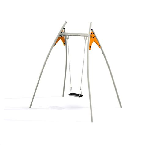 individual swings single swing swings playground equipment lars laj 174 17402