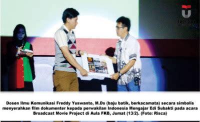 film dokumenter di indonesia mahasiswa tel u buat film dokumenter untuk indonesia mengajar
