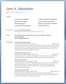 customer service resume sle cv template resumehelp