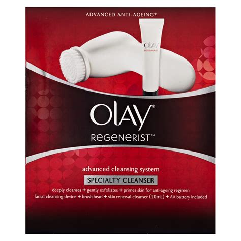 Priceline Detox by Buy Regenerist Advanced Cleansing System 1 Pack By Olay