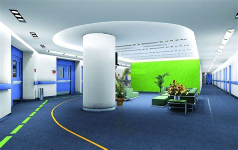company of interior design blue interior design of company office
