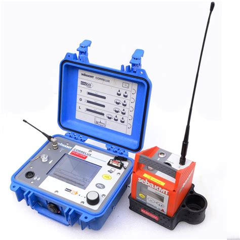 Plumbing Leak Detection Tools by Sebaktm Correlux P 2 Digital Correlator Hydrolux H500