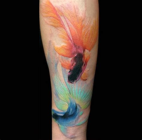 watercolor tattoos usa 25 best ideas about watercolor fish on