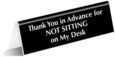 Away From My Desk Sign by Front Desk Custom Door Signs And Employee Signs To