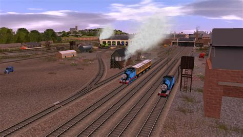 top and friends engines tidmouth sheds wallpapers
