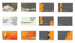 business card eps set of business cards vector free vector graphics all