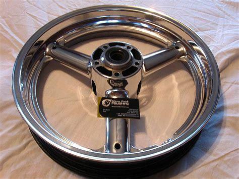 Motorrad Felgen Polieren 2008 suzuki hayabusa motorcycle wheels after custom metal