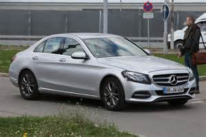 mercedes c class facelift 2016 spied pictures auto express