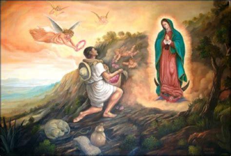 imagenes de la virgen maria con juan diego relato de la aparici 211 n de la virgen al indio juan diego