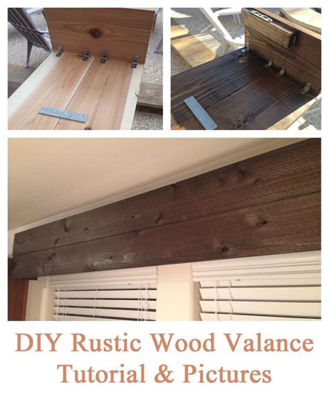 How To Make A Wooden Valance best 25 wooden valance ideas on wooden window