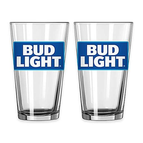 bed bath and beyond glassware bud light 174 pint glasses bed bath beyond