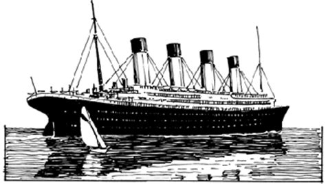 how to draw a boat from above titanic ship drawing www pixshark images galleries