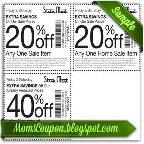 Steinmart Printable Coupons free printable stein mart coupons free printable coupons