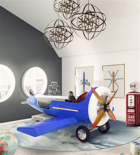 airplane bed sky one plane circu magical furniture