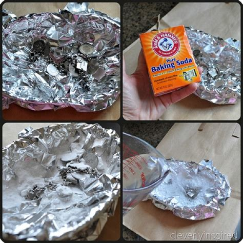 home made cleaners silver jewelry cleaner cleverly