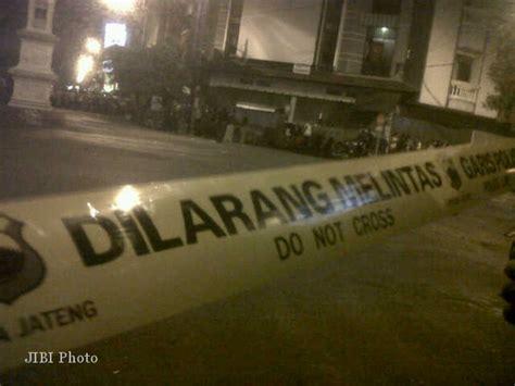 Lu Tembak Motor Jarak Jauh penembakan pos polisi singosaren pelaku tembak polisi dari jarak dekat rananahoo