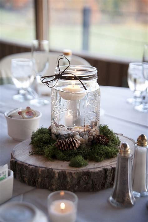 gorgeous mason jars wedding centerpiece ideas