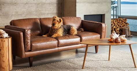 bryght furniture reviews furniture mid century living room with caremel leather