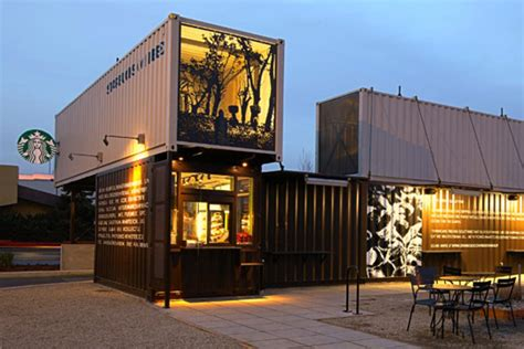 Starbucks Drive Thru Container Coffee Shop