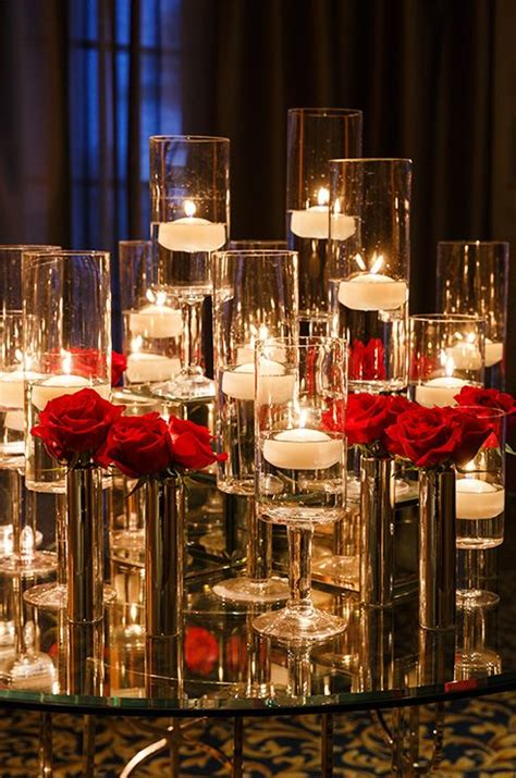 wedding centerpieces with candles and roses 2 2706 best wedding table settings images on weddings floral arrangements and flower
