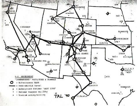 map of us underground tunnels leak says denver the secret underground us capitol